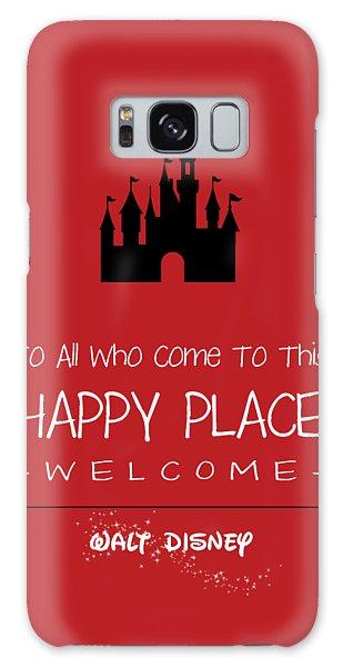 Happy Place Galaxy Case