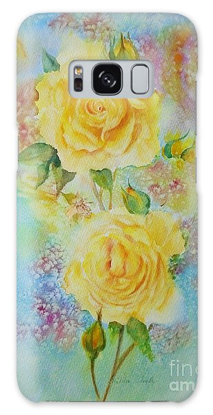 Happy Roses Galaxy Case