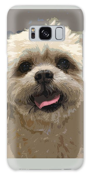 Happy Shih Tzu Galaxy Case