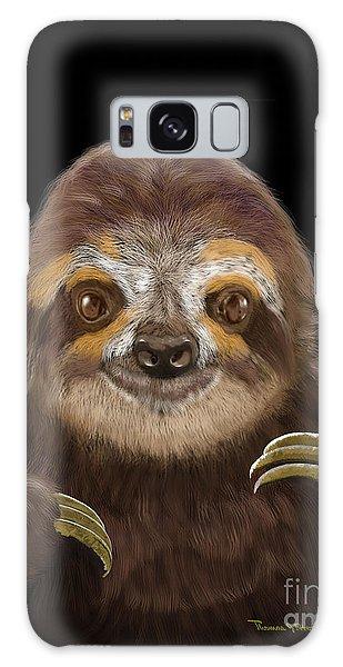 Happy Three Toe Sloth Galaxy Case