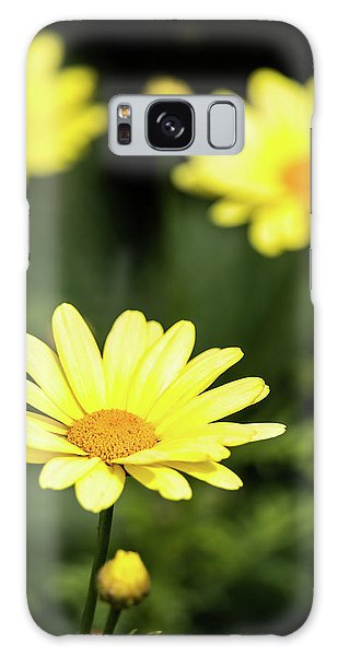 Happy Summer Flowers Galaxy Case