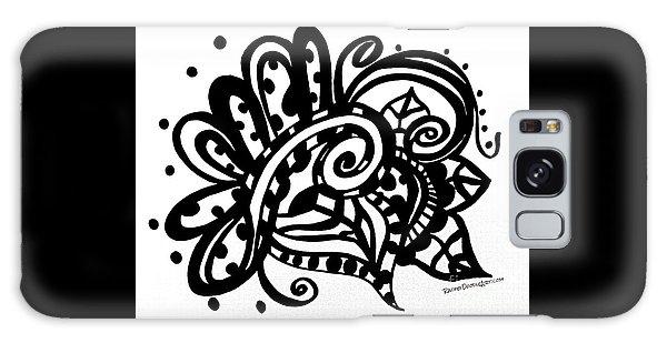 Happy Swirl Doodle Galaxy Case