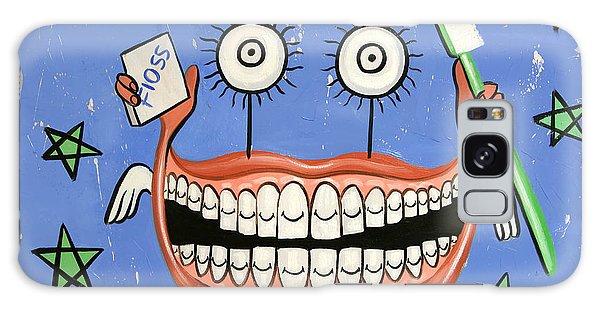 Happy Teeth Galaxy Case