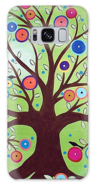 Happy Tree Galaxy Case