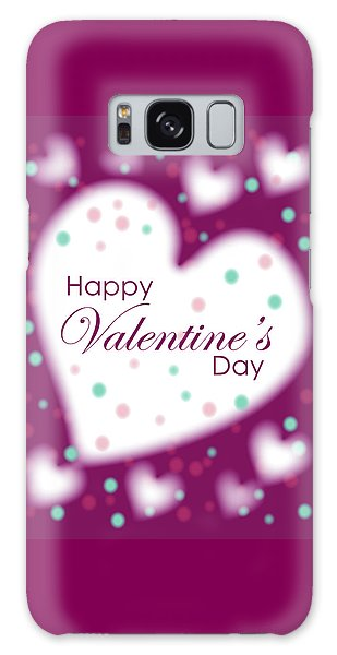 Happy Valentine's Day Galaxy Case