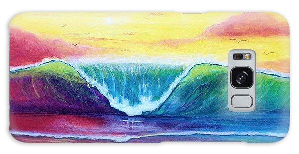 Happy Wave Galaxy Case