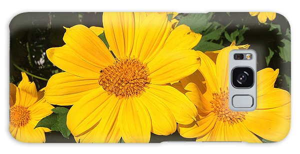 Happy Yellow Galaxy Case by LeeAnn Kendall