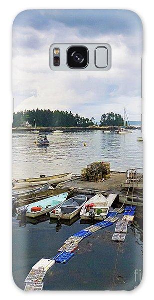 Harbor At Georgetown Five Islands, Georgetown, Maine #60550 Galaxy Case