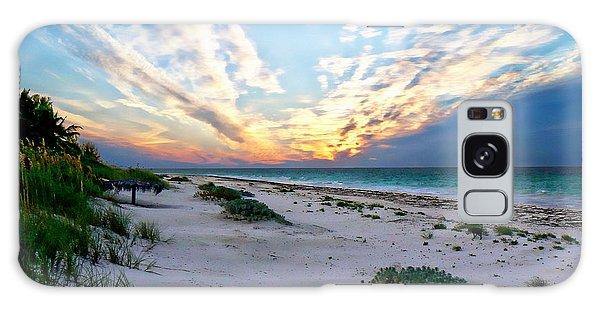 Harbor Island Sunset Galaxy Case