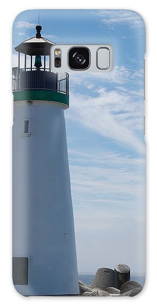 harbor lighthouse Santa Cruz Galaxy Case