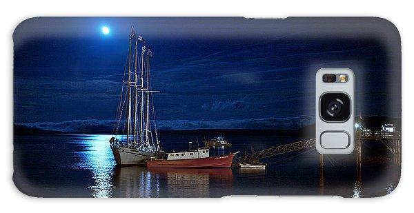 Harbor Moon Galaxy Case
