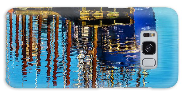 Harbor Reflections Galaxy Case by Garry Gay