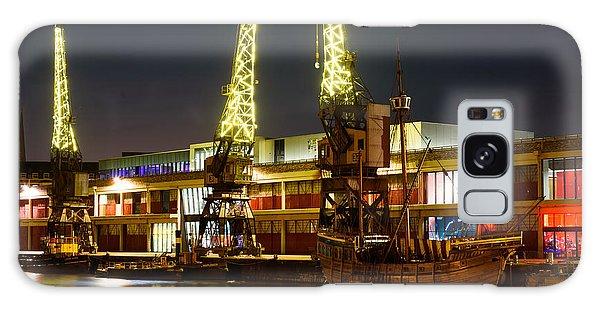 Harbour Cranes Galaxy Case