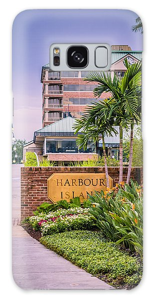 Galaxy Case featuring the photograph Harbour Island Retreat by Carolyn Marshall