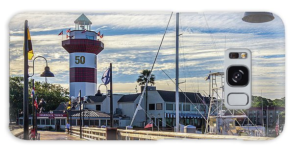 Harbour Town Lighthouse Galaxy Case