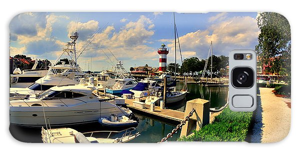 Harbour Town Marina Sea Pines Resort Hilton Head Sc Galaxy Case