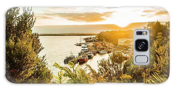 West Bay Galaxy Case - Harbouring A Colourful Vista by Jorgo Photography - Wall Art Gallery