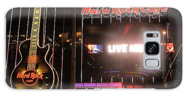 Hard Rock Cafe Las Vegas Strip At Night Galaxy Case by RicardMN Photography