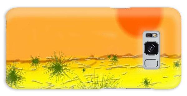 Hard Sun Of Desert Galaxy Case by Dr Loifer Vladimir