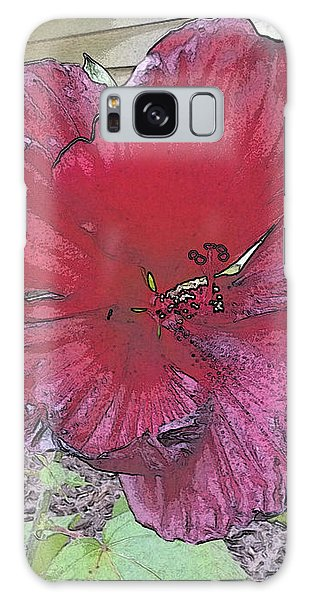 Hardy Hibiscus Galaxy Case