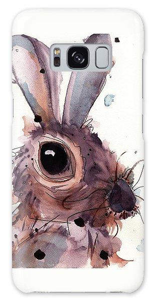 Hare Galaxy Case by Dawn Derman