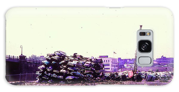 Harlem River Junkyard Galaxy Case