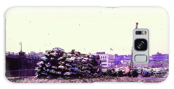 Harlem River Junkyard Galaxy Case by Cole Thompson