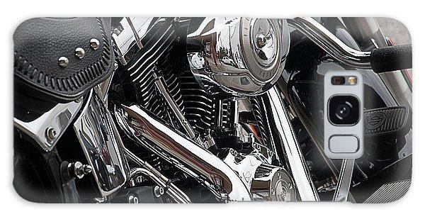 Harley Chrome Galaxy Case