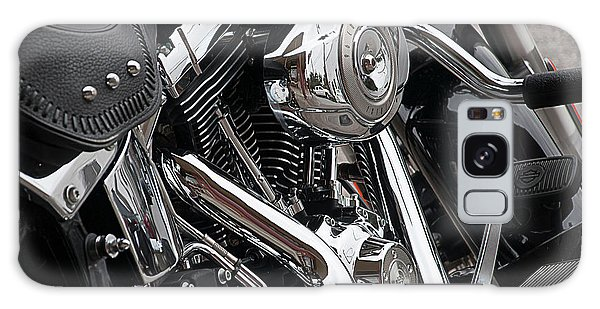 Harley Chrome Galaxy Case