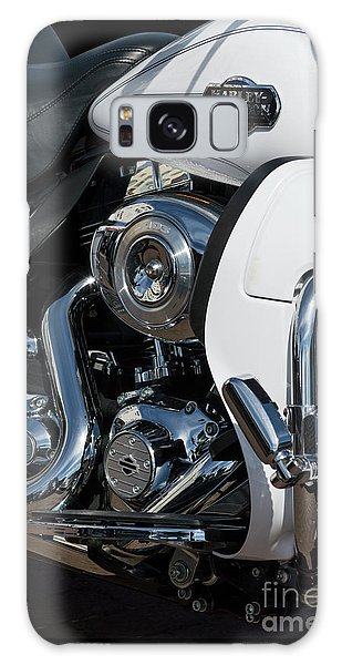 Galaxy Case featuring the photograph Harley Davidson 15 by Wendy Wilton