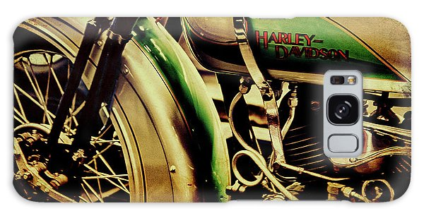 Galaxy Case featuring the photograph Harley Davidson by Joel Witmeyer