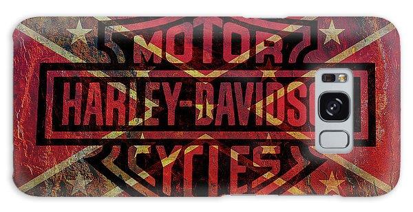 Harley Davidson Logo Confederate Flag Galaxy Case