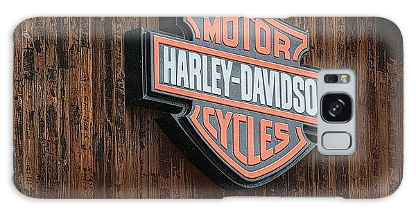 Harley Davidson Sign In West Jordan Utah Photograph Galaxy Case