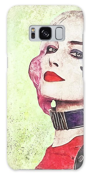 Harley Is A Crazy Woman Galaxy Case