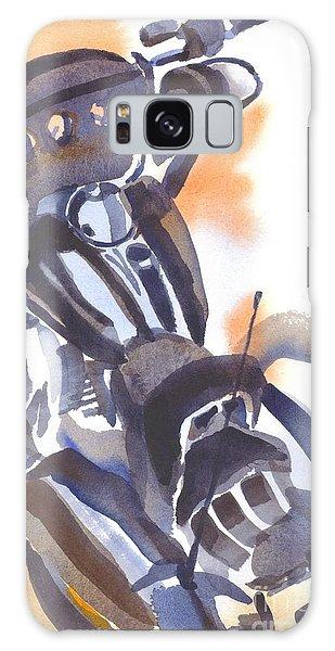 Motorcycle Iv Galaxy Case by Kip DeVore