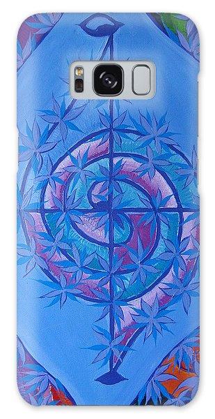 Galaxy Case - Harmonious Life Cross by Joanna Pilatowicz