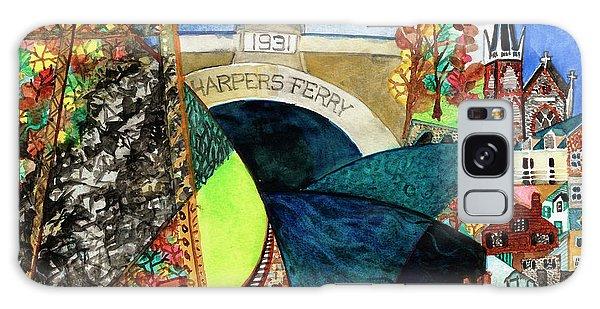 Harpers Ferry Rivers, Railroads, Revolvers Galaxy Case