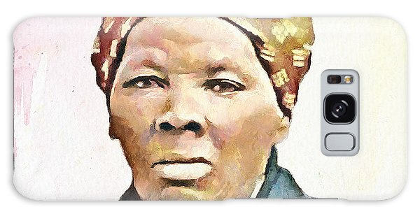 Harriet Tubman Galaxy Case by Wayne Pascall