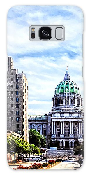 Harrisburg Pa - Capitol Building Seen From State Street Galaxy Case