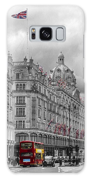 Harrods Of Knightsbridge Bw Hdr Galaxy Case by David French