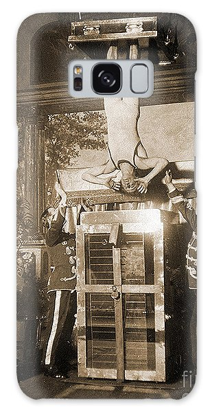 Drown Galaxy Case - Harry Houdini Suspended Above A Tank Of Water  by American School