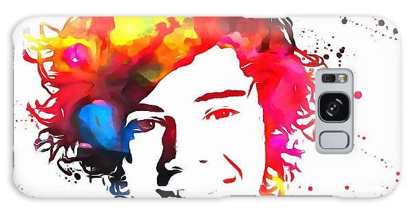 Harry Styles Paint Splatter Galaxy Case by Dan Sproul