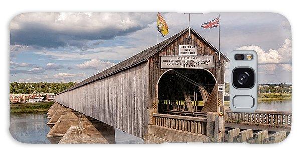 Hartland Covered Bridge Galaxy Case