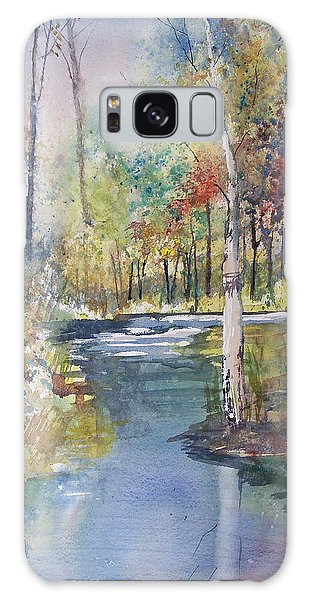 Hartman Creek Birches Galaxy Case