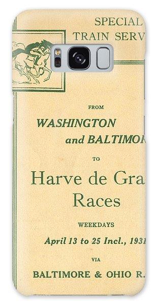 Harve De Grace Races Galaxy Case