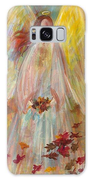 Harvest Autumn Angel Galaxy Case