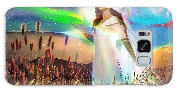 Harvest Bride Galaxy Case by Dolores Develde