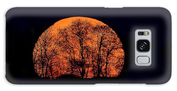 Harvest  Moon Rising Galaxy Case