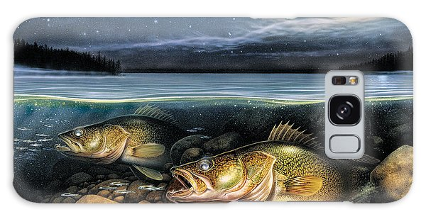 Harvest Moon Walleye 1 Galaxy Case