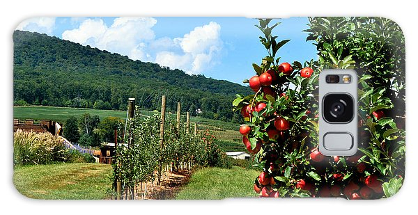 Harvest Time In The Catoctin Mountains Galaxy Case